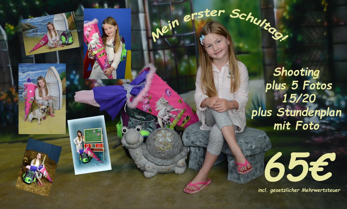 Fotos zum 1. Schultag in Saarbrücken Dudweiler