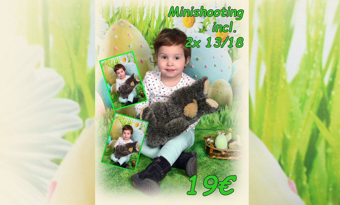 Fotoshooting Ostern