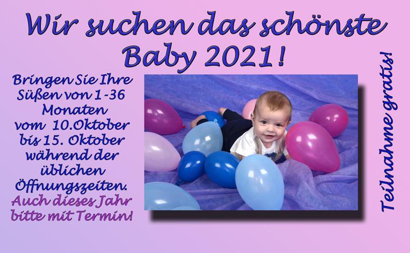 Wir suchen das schönste Baby 2021